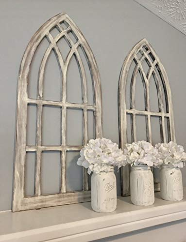 (Farmhouse arched window frames)
