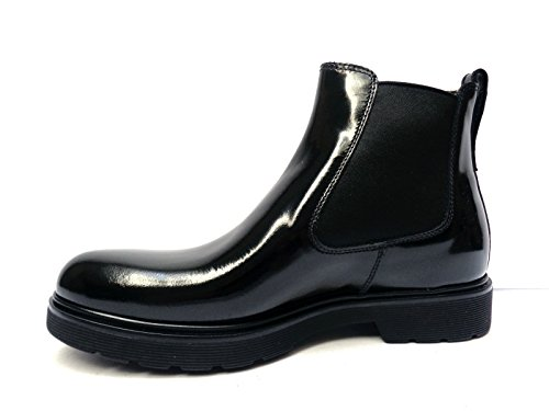 Nero Giardini Uomo scarpe da beatles in pelle abrasivata col. n.