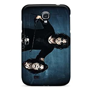 Anti-Scratch Cell-phone Hard Cover For Samsung Galaxy S4 With Custom Lifelike Alice Cooper Band Skin CristinaKlengenberg