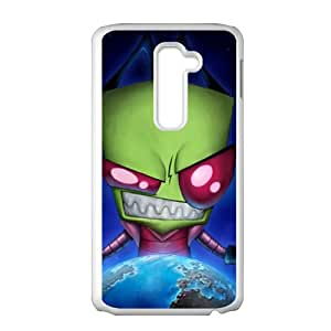 Earth Invader Cell Phone Case for LG G2