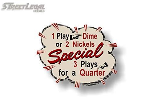 2 Jukebox Nickels or Dime Burst 5