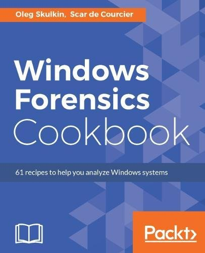 Windows Forensics Cookbook Front Cover