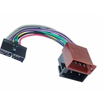 iso wiring harness car stereo radio connector adapter amazon co uk rh amazon co uk
