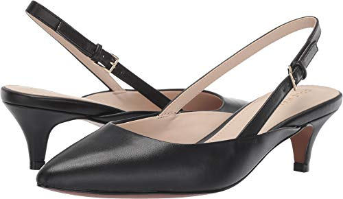 - Cole Haan Women's Harlow Slingback Pump Black Leather 9 B US