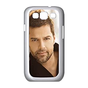 Samsung Galaxy S3 9300 Cell Phone Case White_he03 ricky martin music artist singer celebrity Kqnpy