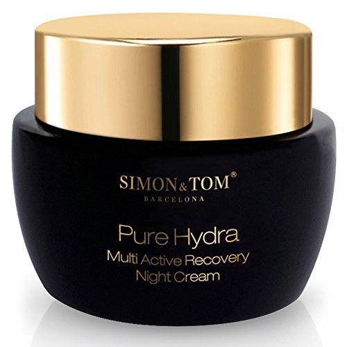 Simon & Tom Pure Hydra Multi Active Recovery Night Cream. Anti-aging hydrating formula for young, fresher looking skin 50 ml / 1.69 (Night Recovery Treatment)
