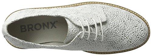 Bronx Damen Bx 1260 Bmigox Oxfords Weiß (wit)