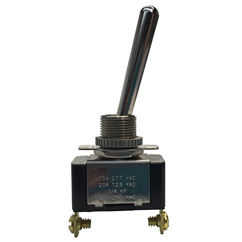Gardner Bender GSW-111 Electrical Switch Long Bat Handle Toggle Switch (Spst) 20A 125V AC