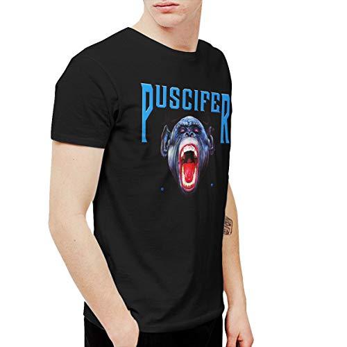 AlexisW Puscifer Men's T Shirts Black 3XL