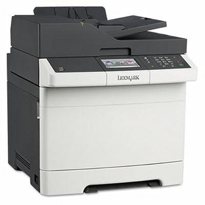 Lexmark CX410DE Laser Multifunction Printer - Color - Plain Paper Print - Desktop - Copier/Fax/Printer/Scanner - 32 ppm Mono/32 ppm Color Print - 2400 x 600 dpi Print - 32 cpm Mono/32 cpm Color Copy - Touchscreen - 1200 dpi Optical Scan - Automatic Duplex
