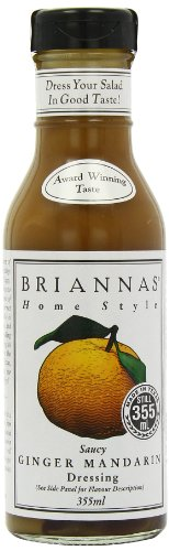Brianna's Saucy Gember Mandarijn Dressing, 355ml