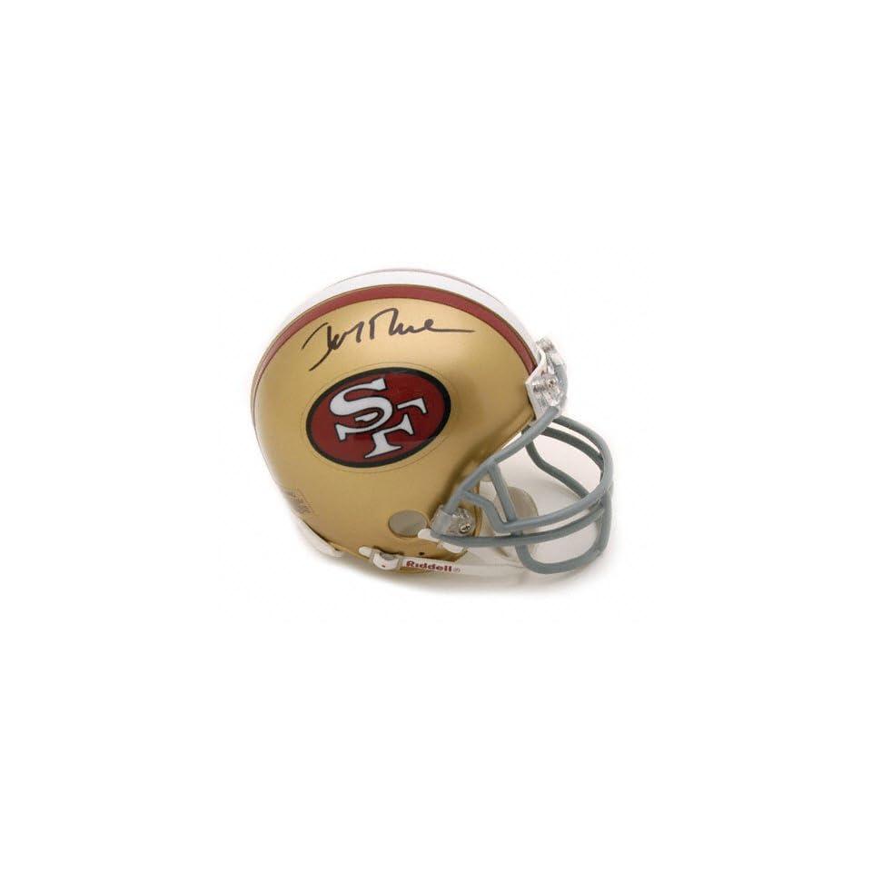 Jerry Rice San Francisco 49ers Autographed Throwback Mini Helmet