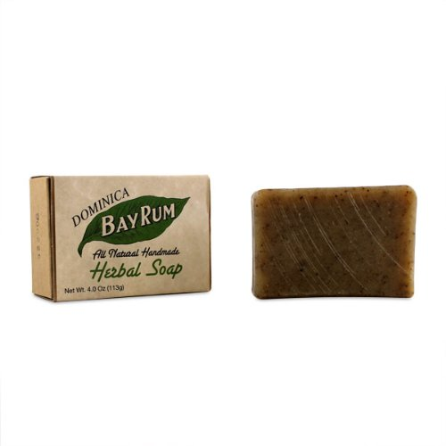 Dominica-Bay-Rum-All-Natural-Handmade-Herbal-Soap-4oz-soap-by-Dominica-Imported