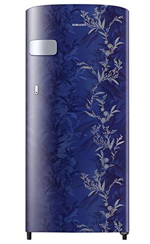 Samsung 192 L 2 Star Direct Cool Single Door Refrigerator (RR19A2Y2B6U/NL, Mystic Overlay Blue)