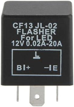 Carchet Blinkrelais 3pin Blinker Relais Für Led Blinker B L E Typ 12v Gefragt Auto