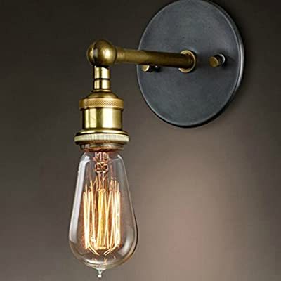 Industrial Retro Rustic Loft Antique Wall Lamp Edison Vintage Pipe Wall Sconce Decorative Fixtures Lighting Luminaire