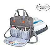 Luxja Carrying Case Compatible with Cricut Easy Press (9 inches x 9 inches), Tote Bag Compatible with Cricut Easy Press and Supplies (Bag Only, Patent Pending), Gray: more info