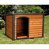 Precision Pet Extreme Log Cabin Medium 44.5 in. x 26.4 in. x 29.5 in.