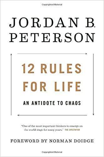 Обложка книги Jordan B. Peterson - 12 Rules for Life: An Antidote to Chaos [2018, PDF, ENG]