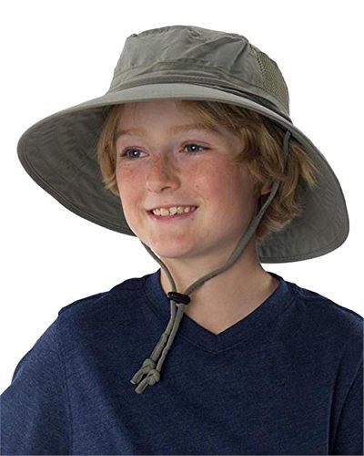 Sun Protection Zone Kids Unisex Lightweight Adjustable Ou...