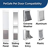 PetSafe Dog and Cat Door Replacement Flap - Large - 10 1/8 in x 16 7/8 in - SKU# PAC11-11039,Brown