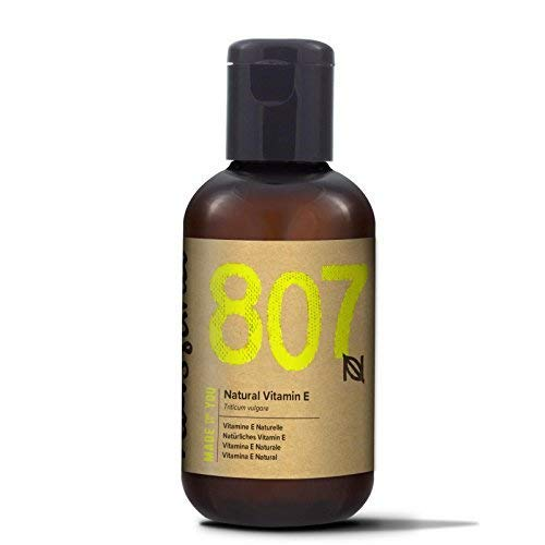 Naissance 100% Natural Vitamin E Oil 2 fl oz / 60ml Sample Size - Vegan, Cruelty Free, Hexane Free, No GMO - Face, Dry Skin & Body Moisturizer Treatment, Makeup Remover
