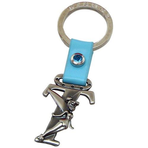 (Tinker Bell Letter T Pewter Key Chain)