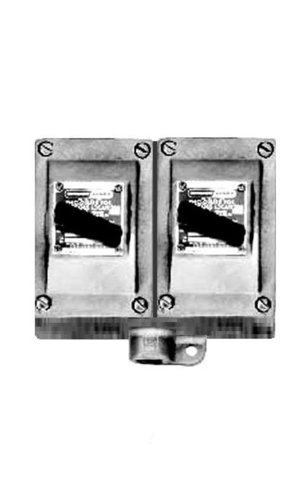 Crouse-Hinds EDSC2229 3/4-Inch Two Gang Factory Sealed General Use Snap Switch