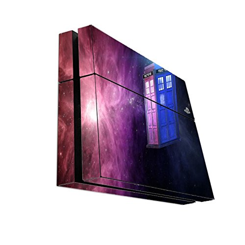 Dr Who Playstation 4 PS4 Console Vinyl Decal Sticker Skin by Compass Litho