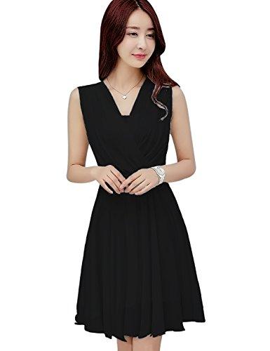 Hot Sexy Black Formal Dress - 9