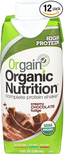 Orgain Organic Nutrition Shake, Creamy Chocolate Fudge