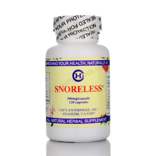 Chi 120 Capsules - Snoreless 120 Capsules - Chi's Enterprise