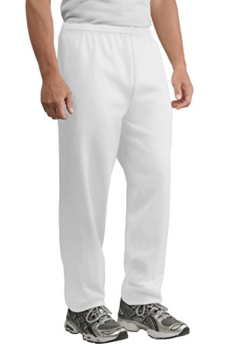 Port & Company Men's Ultimate Sweatpant with Pockets XS - Drawstring Port Sweatpants & Company