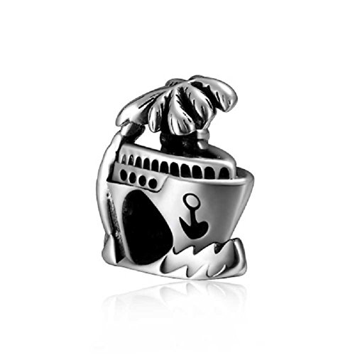 Have a Trip Boat 925 Sterling Silver Anchor Charm Bead Fits European Brand Charms