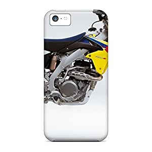 New Style Case Cover MXaSYSq2748NluVJ 2009 Suzuki Rm Z450 Motocross Compatible With Iphone 5c Protection Case