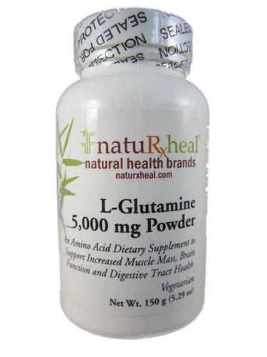 L-Glutamine 5,000 mg Powder 5.29 oz by natuRxheal