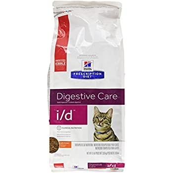 HillS Prescription Diet I/D Gastrointestinal Health Dry Cat Food 8.5Lb