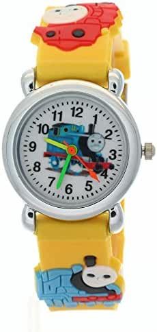 TimerMall Kids Children Fashion THOMAS FRIENDS Waterproof Stainless Steel Cartoon Watches