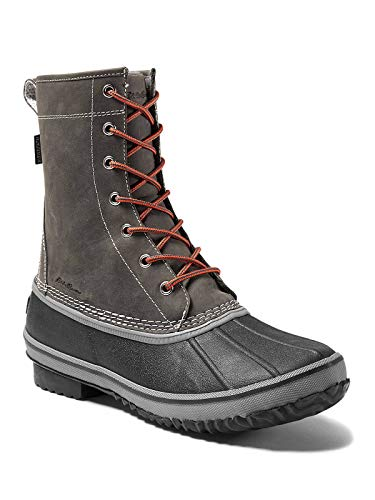 Eddie Bauer Men's Hunt Pac Boot, Cinder Regular 12M