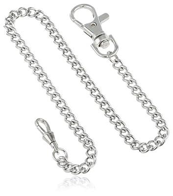 Charles-Hubert, Paris 3548-W Stainless Steel Pocket Watch Chain by Charles-Hubert, Paris