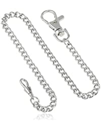 3548-W Stainless Steel Pocket Watch Chain