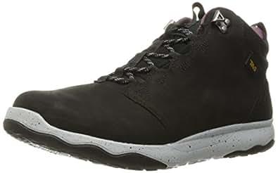 Teva Women's W Arrowood Lux Mid Waterproof Hiking Boot,Black,6 M US