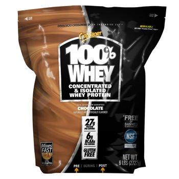 サイトスポーツ100%ホエイプロテインチョコレート2.7キロ(6ポンド)バッグ(2パック)CytoSport 100% Whey Protein Chocolate 2.7kg (6lb) Bag ( Pack of 2 )   B00MKS72PQ