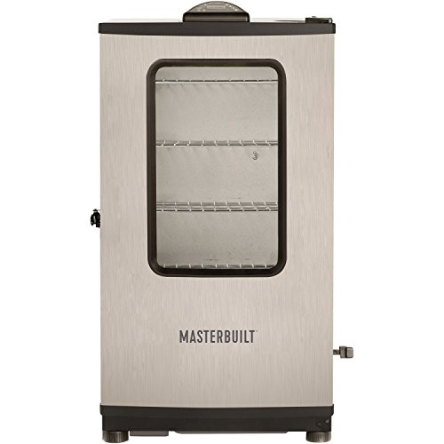 mes140s stainless steel electric smoker