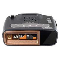 Beltronics GT360 - Radar/Laser Detector, Directional Arrows, Fewer False Alerts, Supercharged Detection, OLED Display, Bluetooth, Escort Live, Voice Alerts, Police Alerts