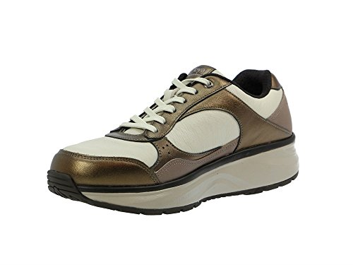 Leather beige Tina Joya Beige Trainers Womens YT6Ew6