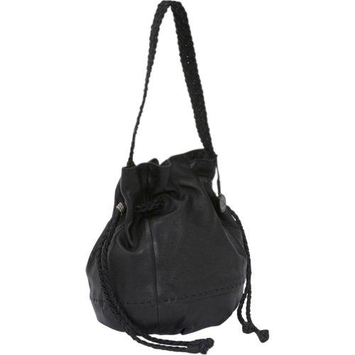 The SAK Women's Indio 104468 Shoulder Bag,Black,One Size, Bags Central