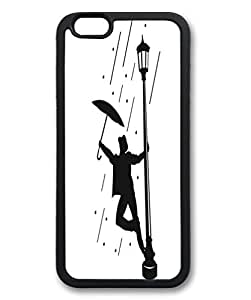 iPhone 6 Cases, iPhone 6 Case, Dance in the Rain Case for iPhone 6 -- Black Soft TPU Case