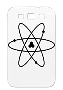 Geek My Mother Let Me Test Physics Atom Electron Chemistry Nerd Im Not Crazy Proton Big Bang Black For Sumsang Galaxy S3 Case