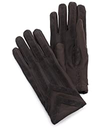 totes ISOTONER Mens Knit Lined Spandex Gloves
